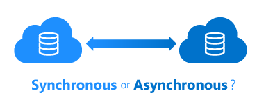 Synchronous or asynchronous DRP?