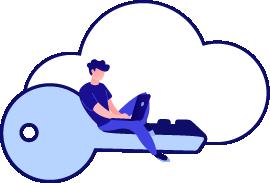 Custom-built private cloud